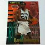1995-96 Fleer #343 David Robinson San Antonio Spurs Basketball Card